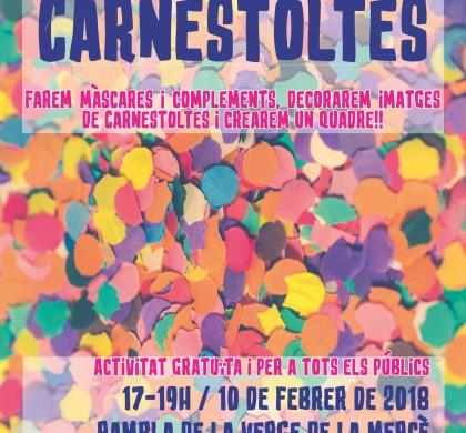 TALLERS DE CARNESTOLTES!!!