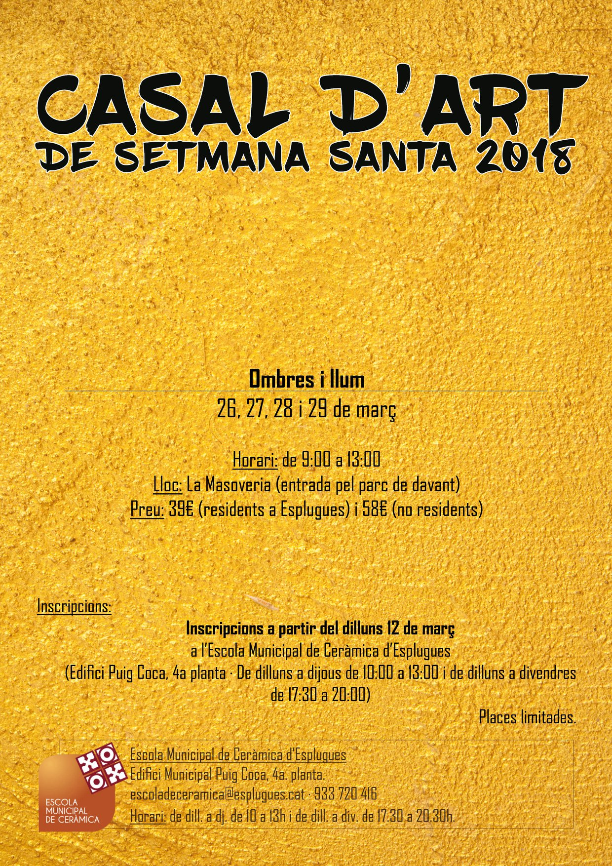 CASAL D'ART DE SETMANA SANTA