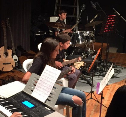 Concert de grups de música moderna i jazz