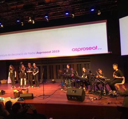 Actuació CaixaFòrum al Festival d'Asproseat