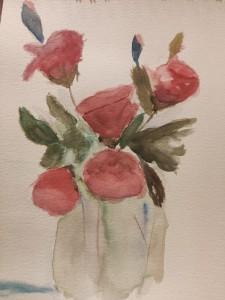 Rosas. Anunciación Marín